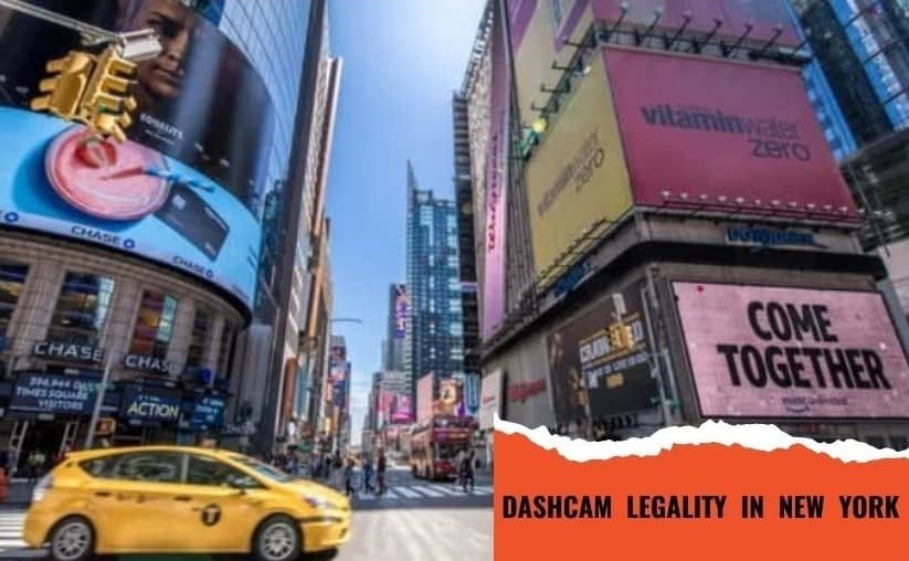 are dash cams legal in new york